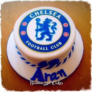 Chelsea badge - Cake by Nanna Lyn Cakes