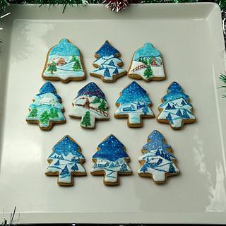 Winter Wonderland Cookies