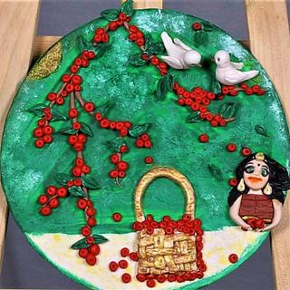 Fruit Basket - Cake by Dr RB.Sudha