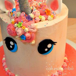 SPARKLY UNICORN  - Cake by Andy Cat