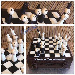 Chess cake