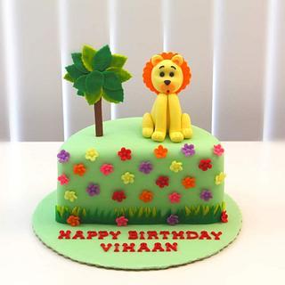 6 months Birthday Cake - Cake by Shilpa Kerkar