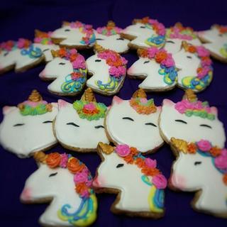 Unicorn theme cookies - Cake by Nehasree Kulkarni