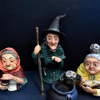 Three Witches - Cake by Meera