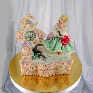 Antiquarian gift - Cake by Édes Mese