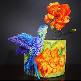 Hummingbird cake - Cake by Laura Reyes