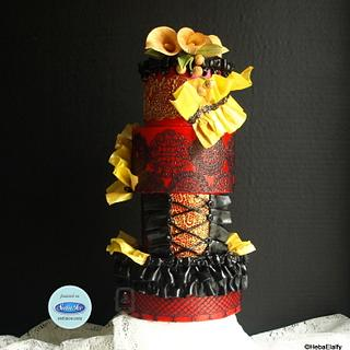 Couture Cakers Collaboration : Burlesque