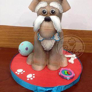"""My dog """"GATO - Cake by TheCake by Mildred"""