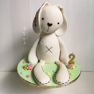 Stuffed Bunny cake