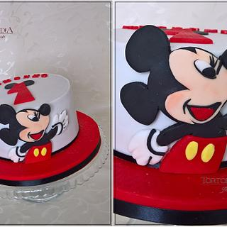 """First birthday """"Mickey Mouse"""""""