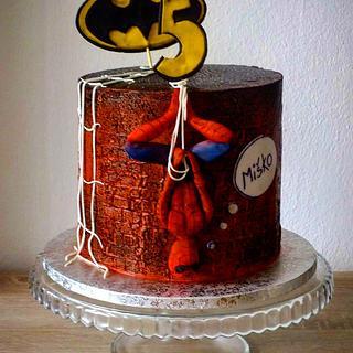 Spiderman cake - Cake by Janeta Kullová
