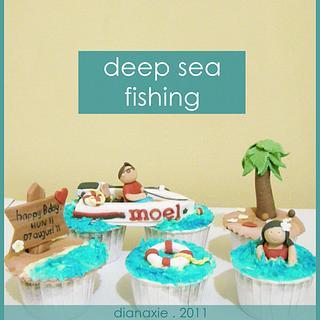 Deep Sea Fishing - Cake by Diana