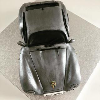 Porsche 911 - Cake by Renatiny dorty
