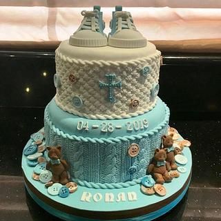 Ronan's Christening Cake