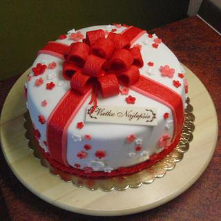 gift cake - Cake by Sonka