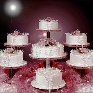 Valentine Cake/ Wedding Cake - Cake by The Beverley Way Collection, Beverley Way Designs USA