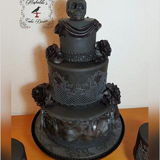 Black birthdaycake