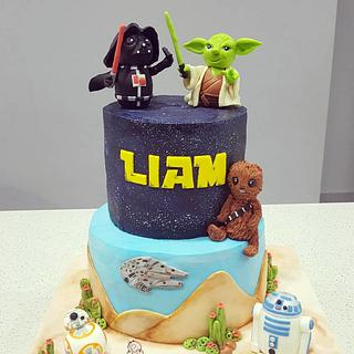Starwars - Cake by Hopechan