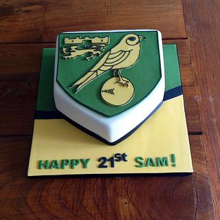 Norwich City F.C. cake