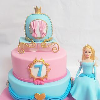 Cindrella - Cake by NehalOsama12