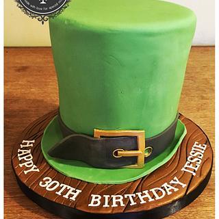 The Leprechaun Hat Cake