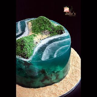 Island cake :)