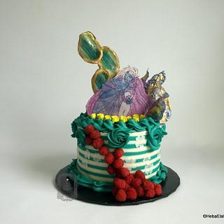 Lore Olympus Birthday Cake