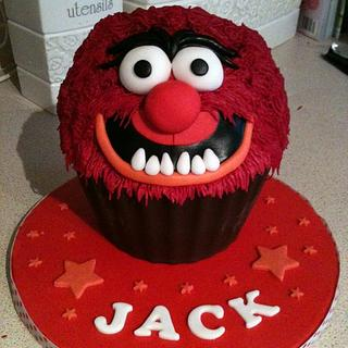 Animal from The Muppets giant cupcake