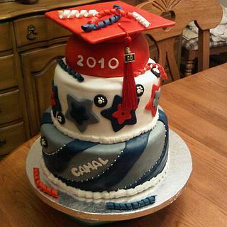 College Graduation Cake - Cake by Tammy