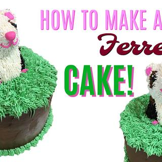 FRIENDLY FERRET CAKE!