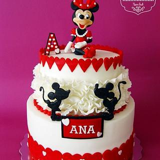 Minnie Mouse - Cake by Zasladi se Cake Design
