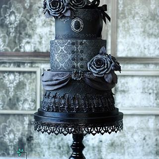 Gothic wedding cake 2.0