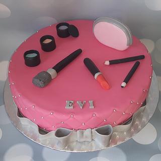Make-up cake.