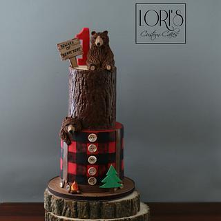 Lumberjack First Birthday