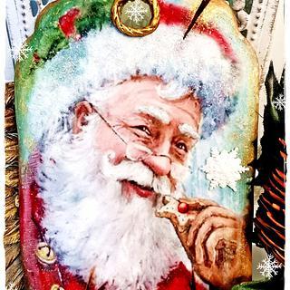 Santa Claus/Christmas cookies