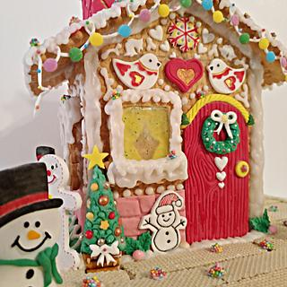 Christmas cookie house...🎅🤶 - Cake by My Sweet World_Elena