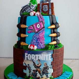Fortnite cake - Cake by TortIva