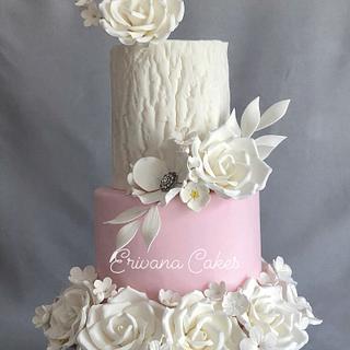 Wedding Anniversary Cake - Cake by erivana