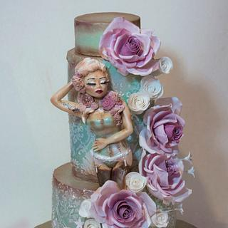 ...Inspired by Marie Antoinette style....