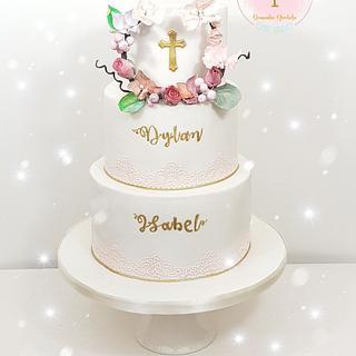 Winter magic - Cake by DomiCakesArt