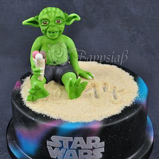 Yoda Cake - Cake by Bappsiass