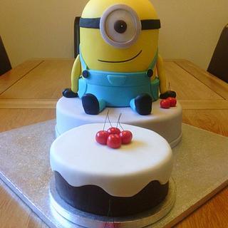 Minion Cake (sorry :-) lol )