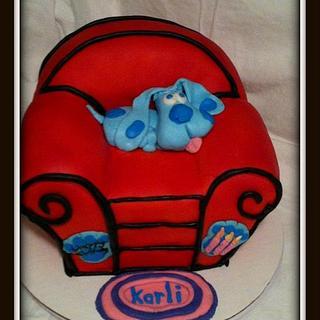 Blue's Clues Birthday Cake - Cake by Angel Rushing