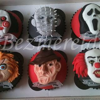 Horror movie cupcakes