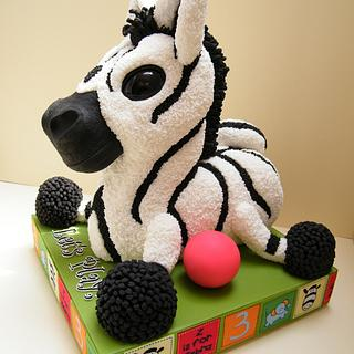 Cuddly Toy Zebra