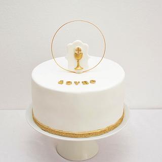 First communion cake - Prva pričest