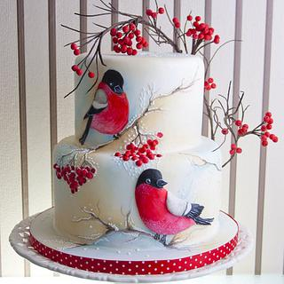 Winter, Christmas Cake