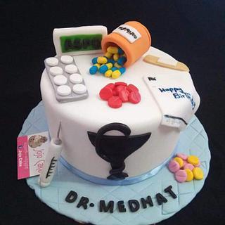 Pharmacist cake by JoJo candy
