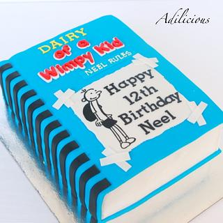 Diary of a Wimpy Kid Cake - Cake by Adilicious