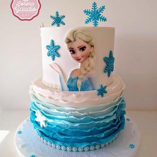 Frozen  - Cake by Lorena Gaudio